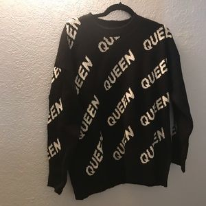 BNWT Forever 21 queen Seaeter M